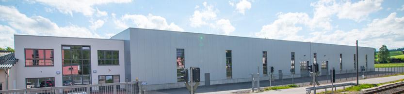 Ab-in-die-Box Produktionshalle